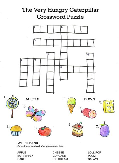 printable puzzles for kids printable crosswords puzzles kids activity shelter