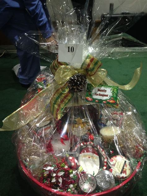 christmas raffle basket possible raffle item pinterest