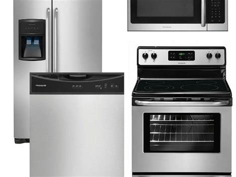 4 piece kitchen appliance package ge stainless steel kitchen appliance package home design