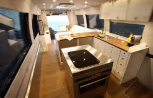 Floor Plan Bot the 163 1 2million motorhome with a state of the art kitchen