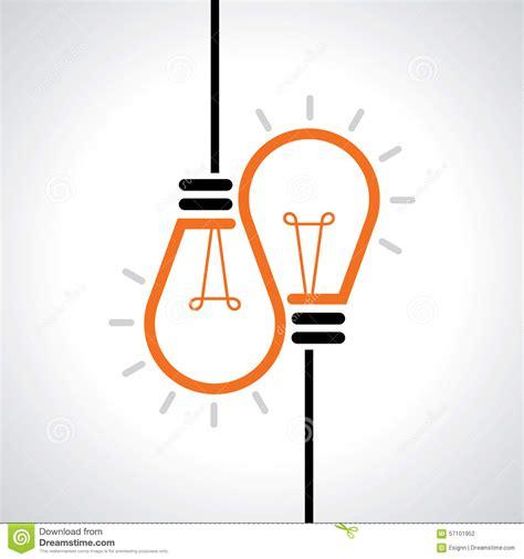 design inspiration vector creative idea in bulb shape as inspiration concept vector