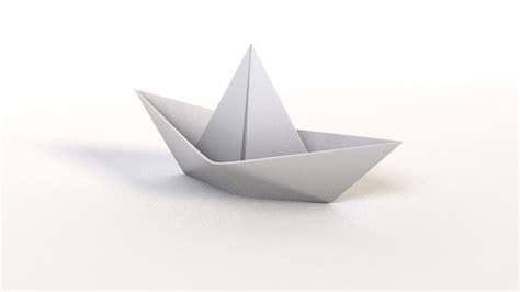 Paper Boat - paper boat c4d