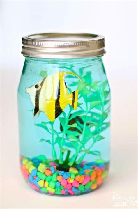 jar crafts for jar aquarium design dazzle
