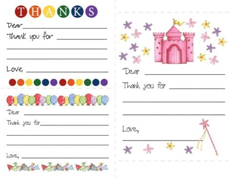 card templates for children best 25 thank you cards ideas on thank