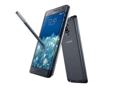 Samsung Note Edge Samsung Releases Galaxy Note Edge With A Curved Display At