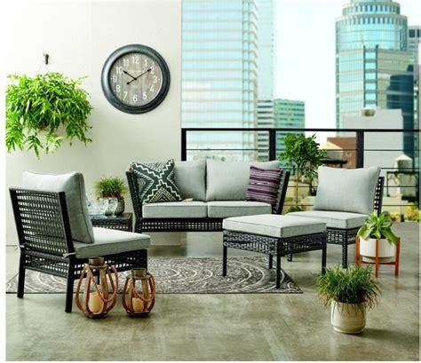 mainstays ayden park  piece patio furniture conversation