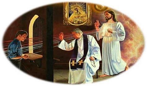 imagenes de sacerdotes orando las malas confesiones arrastran muchas almas al infierno
