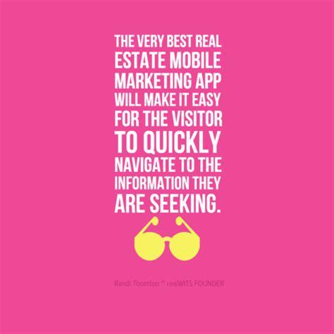 mobile app design quote real estate mobile marketing website app design