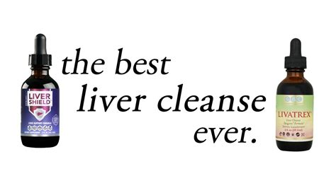 The Best Liver Detox Cleanse by Liver Shield Livartrex The Best Liver Cleanse