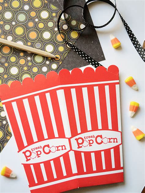 How To Make A Popcorn Box Out Of Paper - learn how to make the popcorn box for
