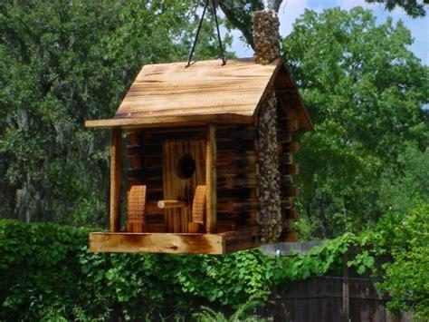 decorative homes have decorative bird houses