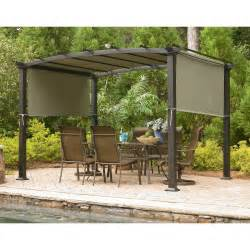 Pergola Outlet garden oasis gf 11s168b curved pergola sears outlet