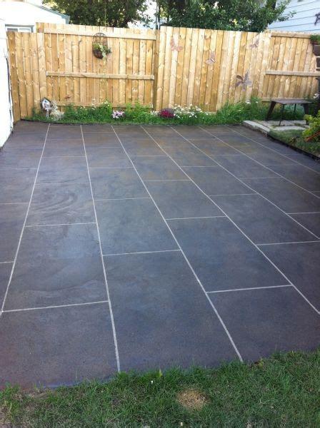 patio concrete resurfacing calgary decorative