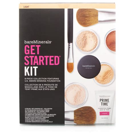 Bare Minerals Starter Kit bareminerals get started kit light chemist direct