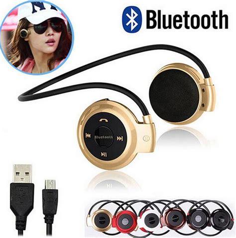 Hotpromo Stereo Bluetooth Headphone Headset Bluetooth Headphone S 1 aliexpress buy mini503 bh503 neckband mini wireless sport bluetooth headset headphone