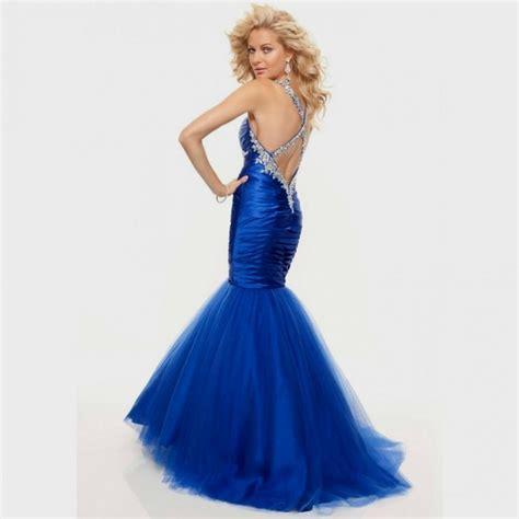 royal blue prom dresses royal blue mermaid prom dresses world dresses