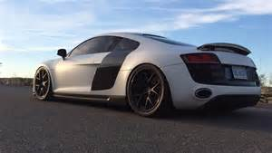 2010 audi r8 5 2 v10 eurocharged tuned 1 4 mile trap