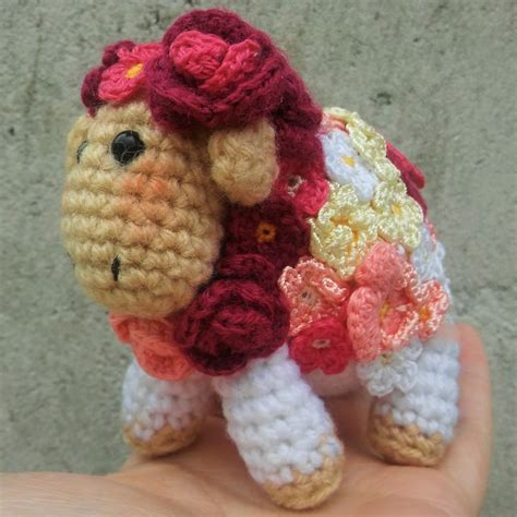 squirrel amigurumi crochet pattern the magic loop flower sheep free amigurumi crochet pattern 183 the magic loop