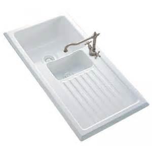 white kitchen sinks uk reginox 1 5 bowl white ceramic kitchen sink and tap