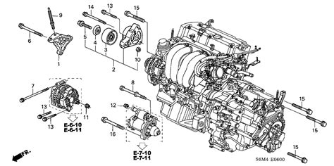 acura parts diagram 90002 pna 000 genuine acura bolt special 10x28