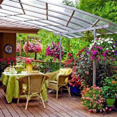 idee terrazzo fiorito oltre 1000 idee su decorazioni da giardino su