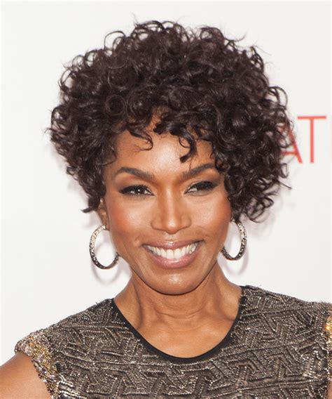 Angela Bassett Hairstyles by Angela Bassett Curly Formal Hairstyle