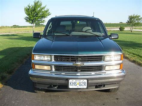 how petrol cars work 1995 chevrolet tahoe auto manual purchase used 1995 chevrolet tahoe 4x4 v8 rust free automatic a c works beautiful no reserve