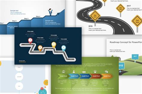 Free Powerpoint Templates Download Professional Free Project Roadmap Template Powerpoint