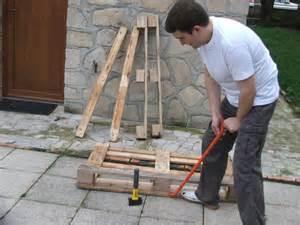 Construire Une Table Avec Des Palettes