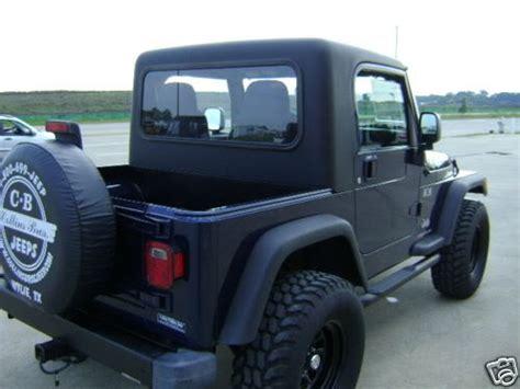 Jeep Tj Half Top The Wrangler Half Top Half Cab Build Nc4x4