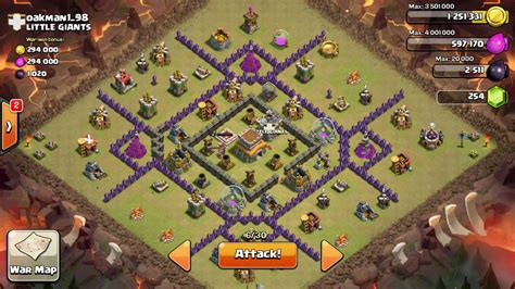 town hall 8 war base clash of clans town hall 8 war base attack strategy arqade