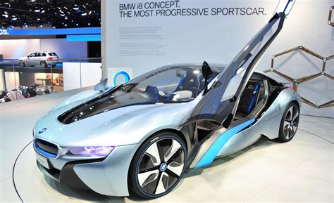 concept bmw i8 car and driver