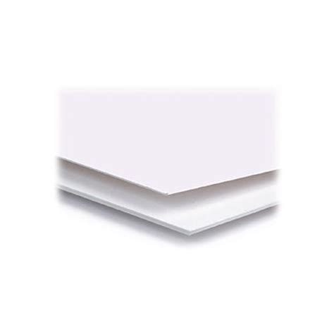 Mat Boards by Archival Methods 4 Ply Pearl White Conservation Mat Board