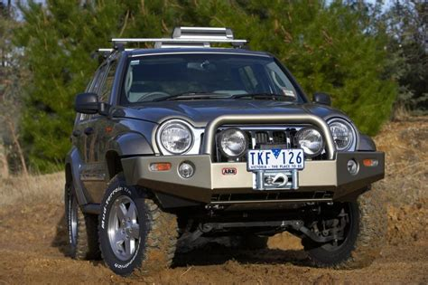Jeep Liberty Bumper Arb 3450170 Arb Combination Bull Bar Bumper In Millenium