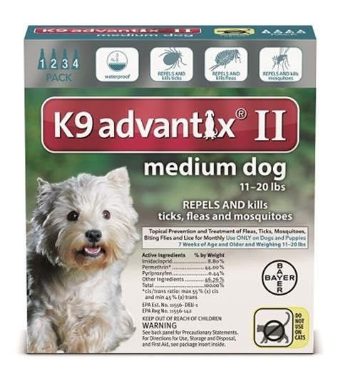 k9 advantix puppy us bayer animal healthcare llc 4 month k9 advantix ii teal medium 11 20 lbs