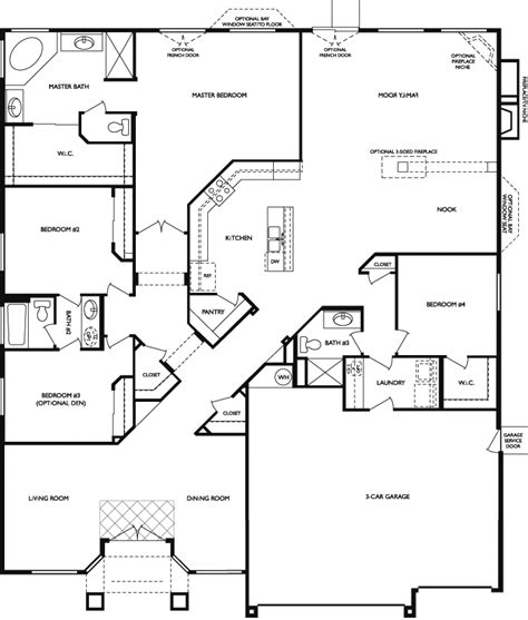 Horton Homes Floor Plans | dr horton floor plan floor dr horton azalea floor plan dr