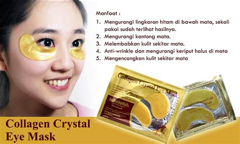 Gold Collagen Eye Mask jual masker mata collagen eye mask