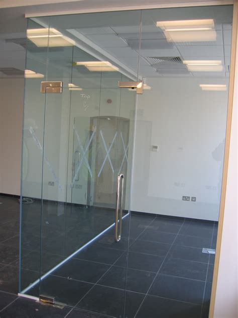 frameless photo office partitioning frameless glazed storage concepts blog