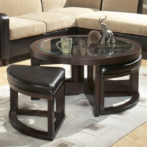 Coffee Table With Stools Underneath by Coffee Table With Chairs Underneath Roy Home Design