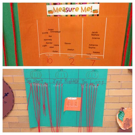 themes of the story a piece of string measuring activity for pumpkins they cut a piece of
