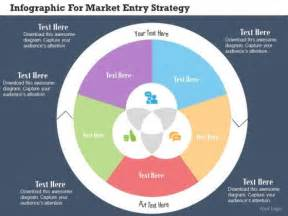 business diagram infographic for market entry strategy