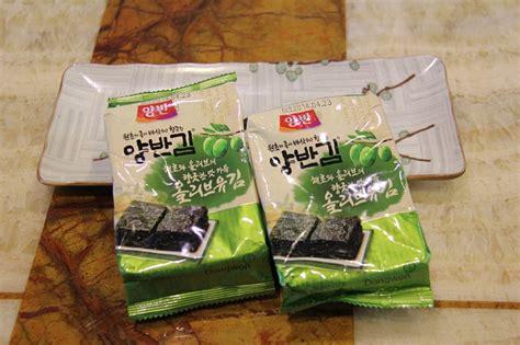Daesang Dried Seaweed 반찬에서 건강 간식까지 한국의 양반김
