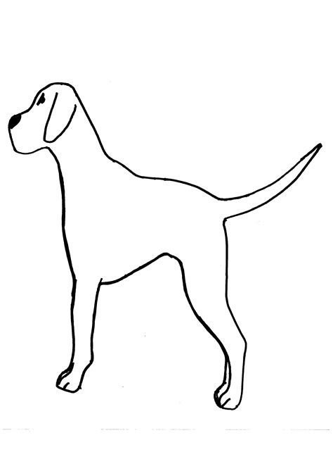 printable dog templates best photos of dog cut out template dog cut out patterns