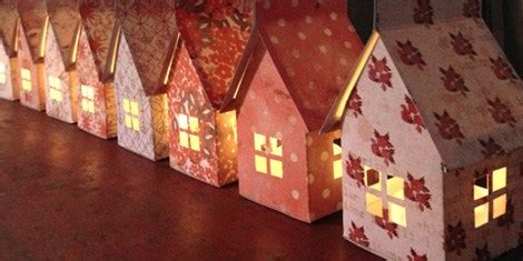 printable paper house luminaries how to paper house luminary make