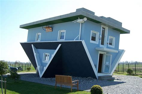 the amazing house in germany that is upside down 30 pictures of some of the unusual looking buildings around