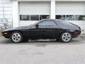 porsche 928 black 1982 porsche 928 s 5 speed 41k low black cancan