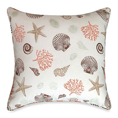 bed bath and beyond decorative pillows seashore square throw pillow bed bath beyond