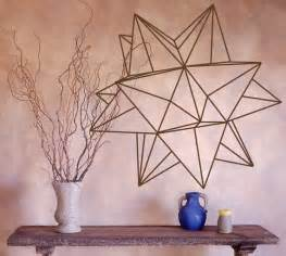 origami star geometric vinyl wall decal geometric 3d profundity cubes sticker wall decals