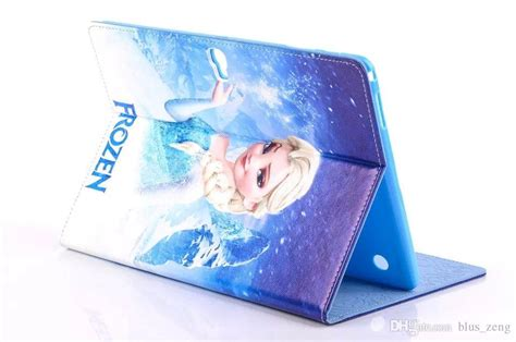 frozen wallpaper samsung tab frozen cartoon movie leather case tablet pc cover for
