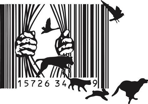 barcode animal tattoo my vegan tattoo vegan